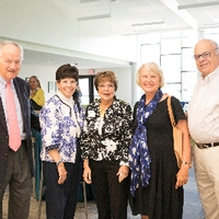 Haas Center Dedication